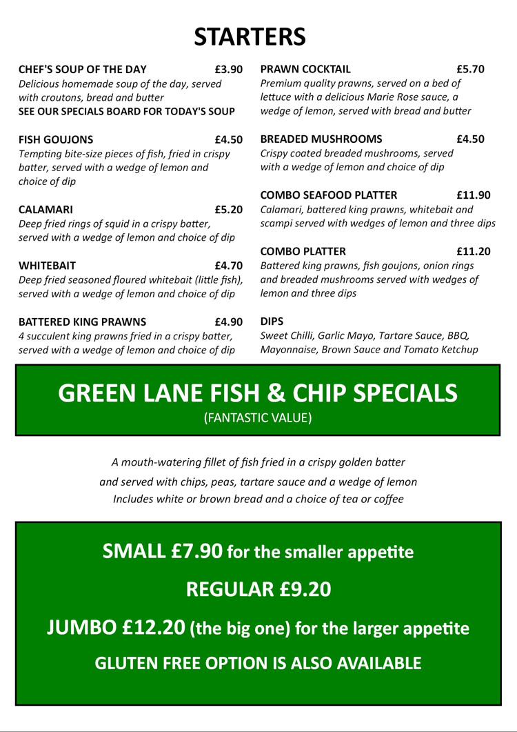 Green Lane Chippy